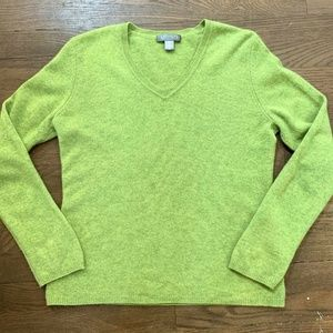 Cashmere By Charter Club 2-Ply Cashmere Sweater S